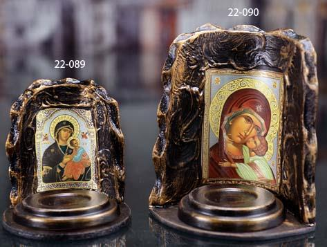 ICON T-LIGHT HOLDER JESUS 22-090