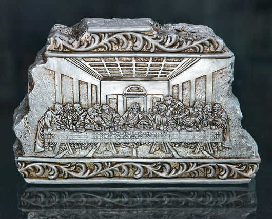 LAST SUPPER PLQ/BAS RELIEF 4x1x622-249