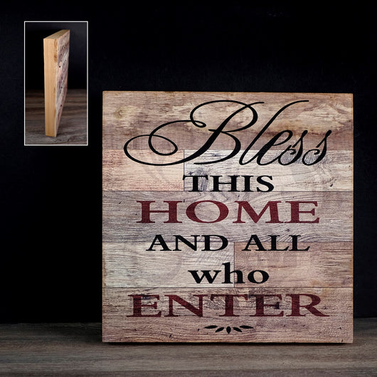 BLESS THIS HOME... SIGN  12x128-406