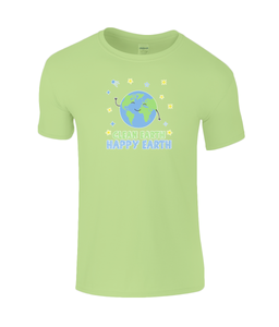 Gildan Kids SoftStyle® Ringspun T-Shirt Clean Earth