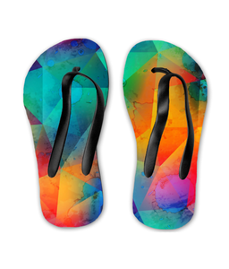 Colorful Personality Kids Flip Flops