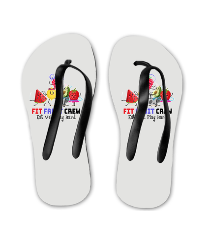 Flip Flops Fit Fruit Crew