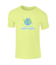 Load image into Gallery viewer, Gildan Kids SoftStyle® Ringspun T-Shirt Clean Earth