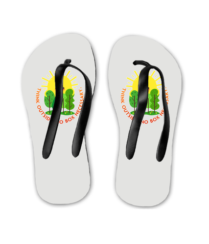 Flip Flops Think Outside