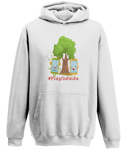 Play Outside Kids Hoodie