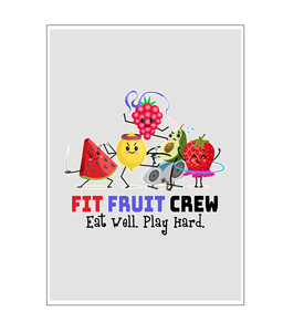 Fit Fruit Crew Wall Art