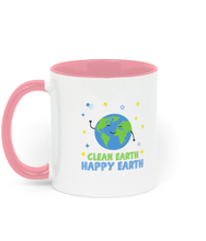 Load image into Gallery viewer, Clean Earth Two Toned Ceramic Mug