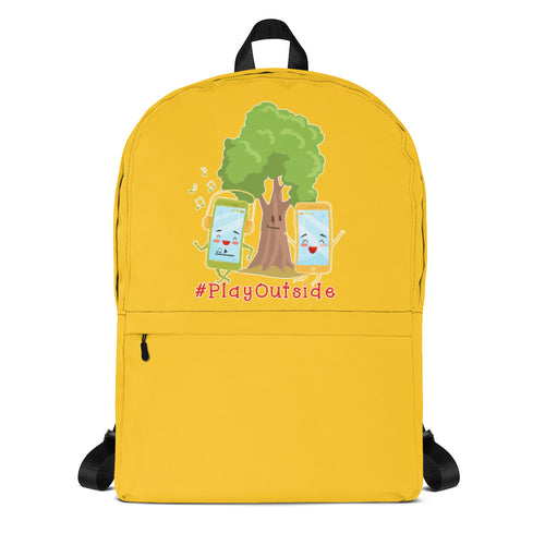 Play Outside Yellow Backpack