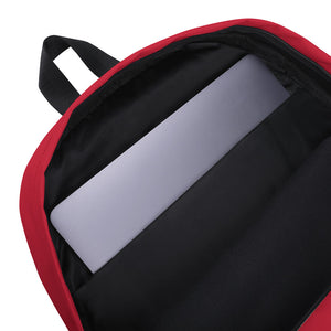 Veggie Life Red Backpack