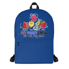 Load image into Gallery viewer, Fit Fruit Crew Blue Backpack
