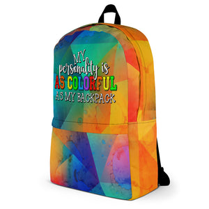 Colorful Personality Backpack