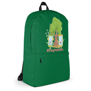 Play Outside Green Backpack