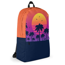 Load image into Gallery viewer, Tropical Sunset Backpack