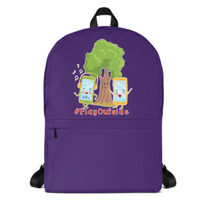 Play Outside Purple Backpack