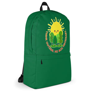 Think Outside Green Backpack