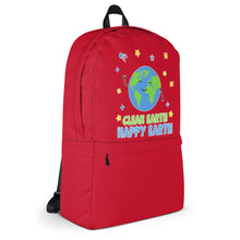 Load image into Gallery viewer, Clean Earth Red Backpack