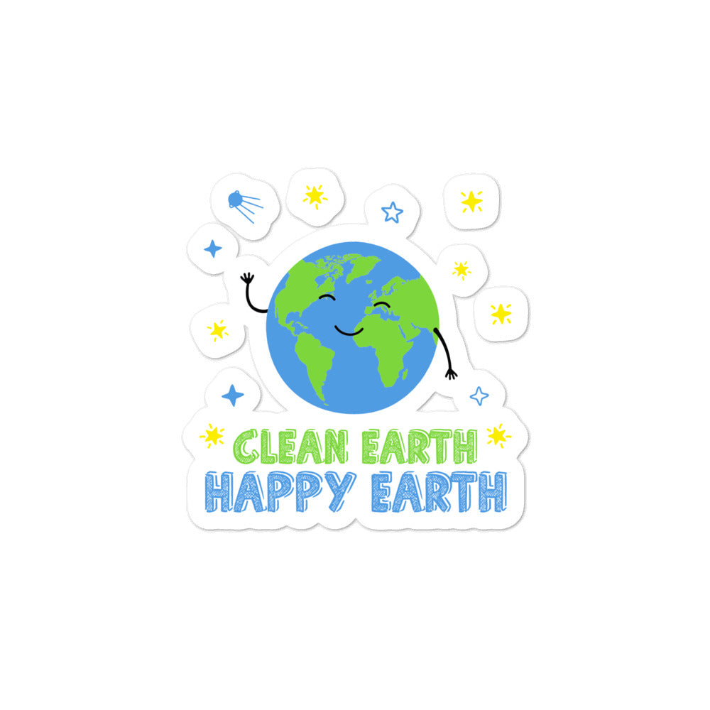 Clean Earth Stickers