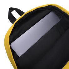 Load image into Gallery viewer, Clean Earth Yellow Backpack