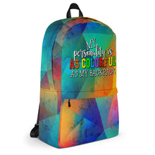 Load image into Gallery viewer, Colorful Personality Backpack