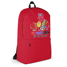 Load image into Gallery viewer, Fit Fruit Crew Red Backpack