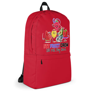Fit Fruit Crew Red Backpack