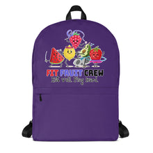 Load image into Gallery viewer, Fit Fruit Crew Purple Backpack