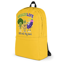 Load image into Gallery viewer, Veggie Life Yellow Backpack