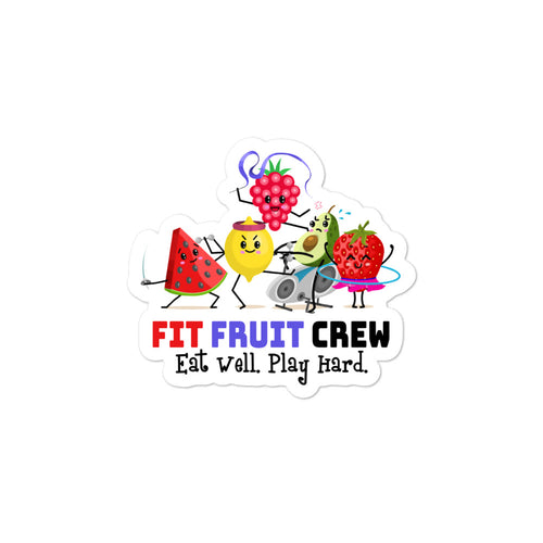 Fit Fruit Crew Stickers
