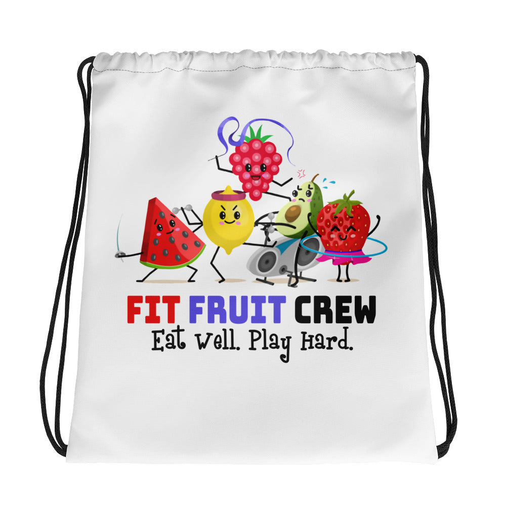 Fit Fruit Crew Drawstring Bag