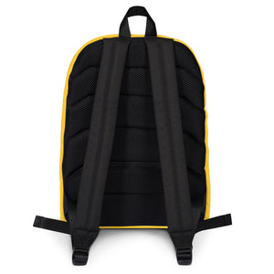 Think Outside Yellow Backpack