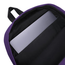 Load image into Gallery viewer, Play Outside Purple Backpack
