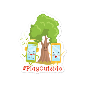 Play Outside Stickers