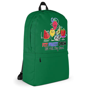 Fit Fruit Crew Green Backpack