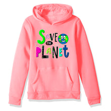 Load image into Gallery viewer, Save The Planet Kid Hoodie