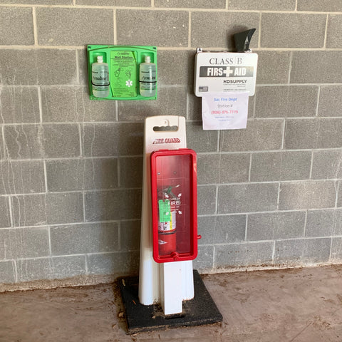 Construction Fire Safety Stand