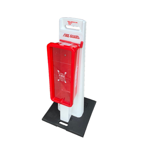 10 lb. Portable Fire Extinguisher Stand-Fire Extinguisher Stand-Safe-T-Systems-1-AnyLadder