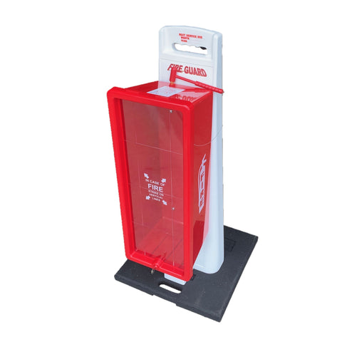 20 lb. Portable Fire Extinguisher Stand