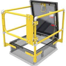 Babcock Davis Roof Hatch Safety Rail - Model SRC-Roof Hatch-Babcock Davis-AnyLadder