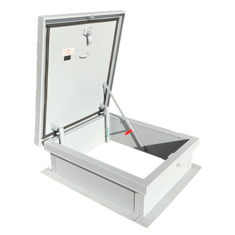 Lane-Aire Steel 36 x 36 Roof Hatch - RHG4444-Roof Hatch-Lane-Aire-AnyLadder