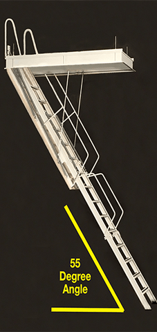 Rainbow G Series Attic Ladder