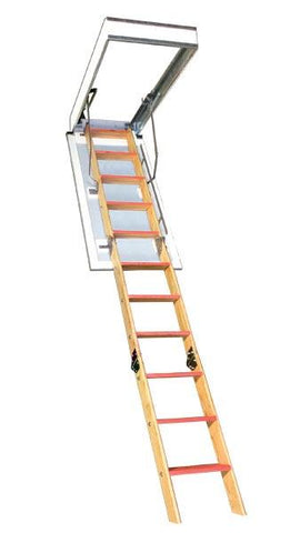 "Bessler BE-119 Attic Stair-Attic Ladder-American Stairways-22.5"" x 54"" R.O.; 8'9"" Ceiling-AnyLadder"