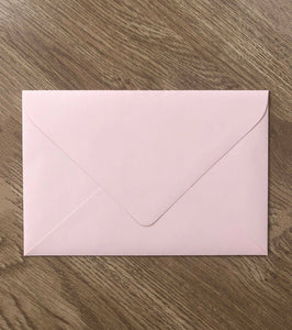 Blush Envelope
