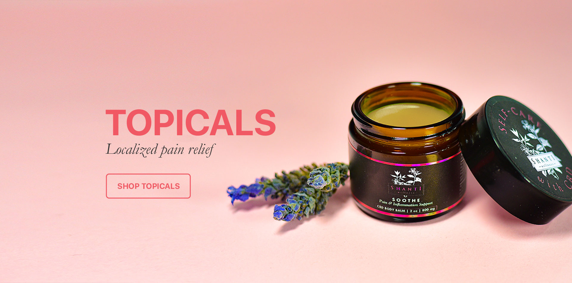 Topicals Localized pain Relief