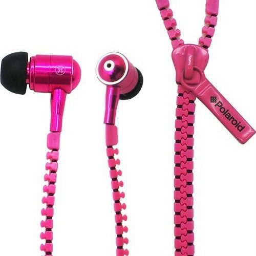 Polaroid Zipper Earphones