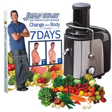 Milex – 850W Jump Start Juicer with 7-Day Detox & Weightloss Diet Program