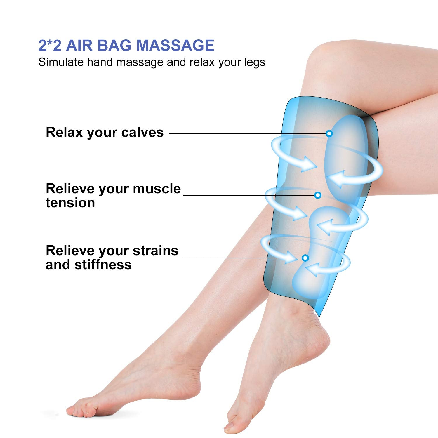 IGIA Air Compression Leg Massager