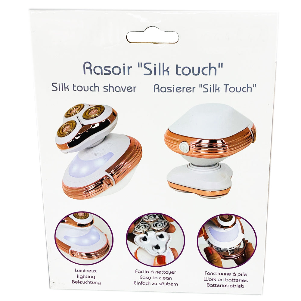 Triple Blade Silk Touch Body Shaver