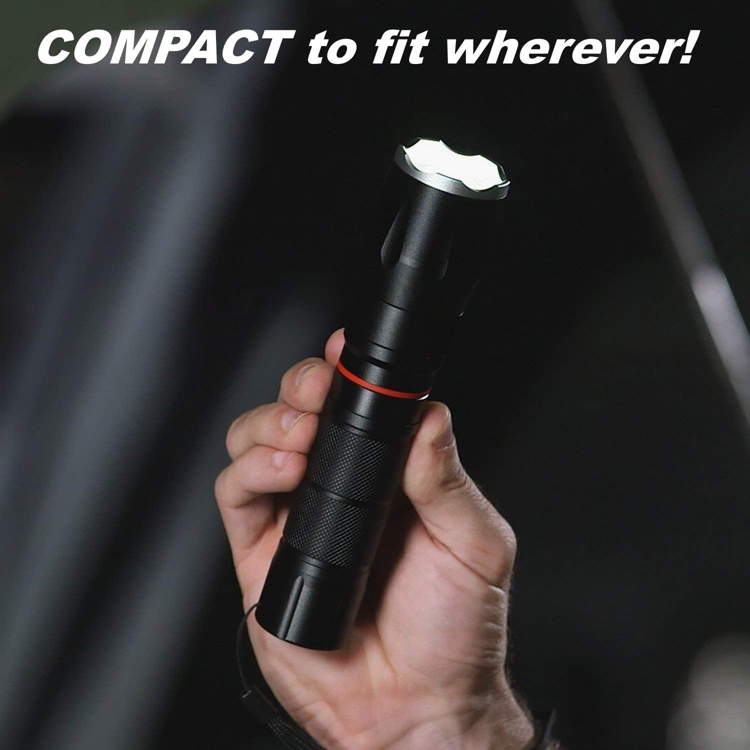 EcoBright Tactical Flashlight
