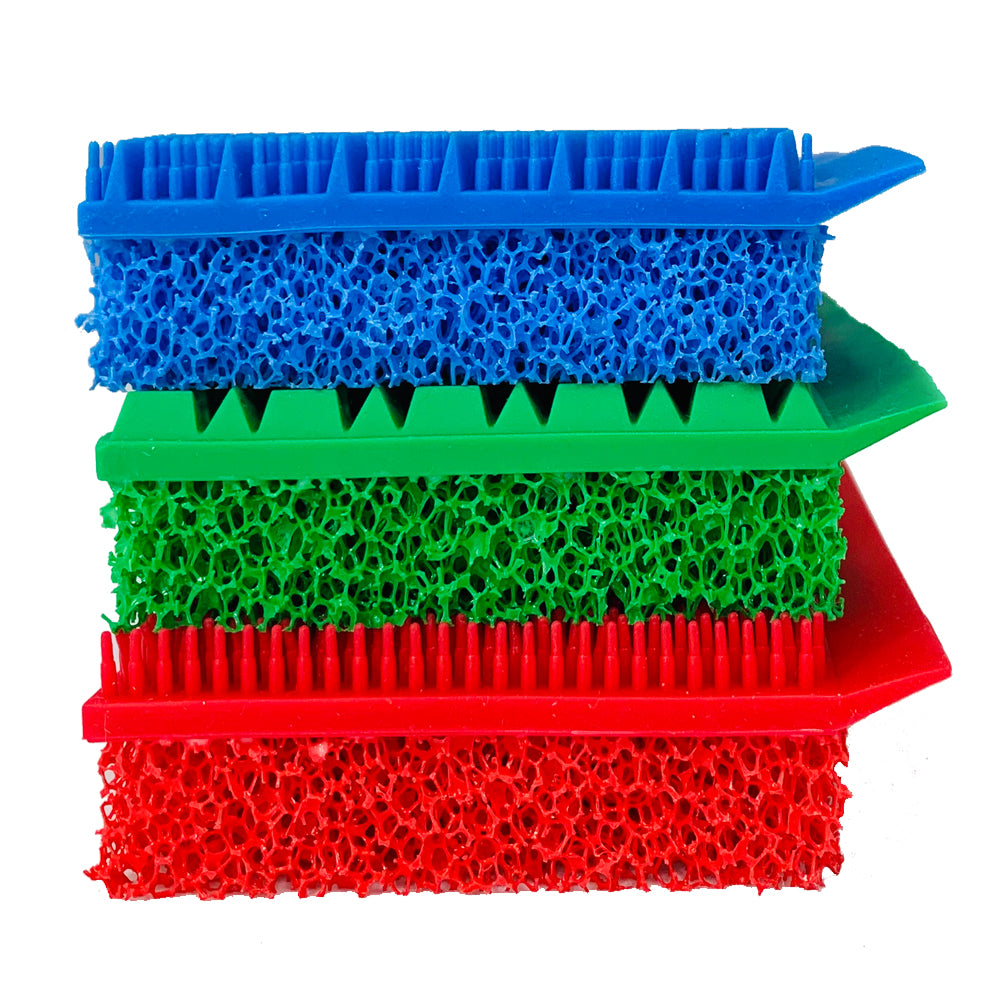 Homemax SilicoClean Double Sided Silicone Scrubbers