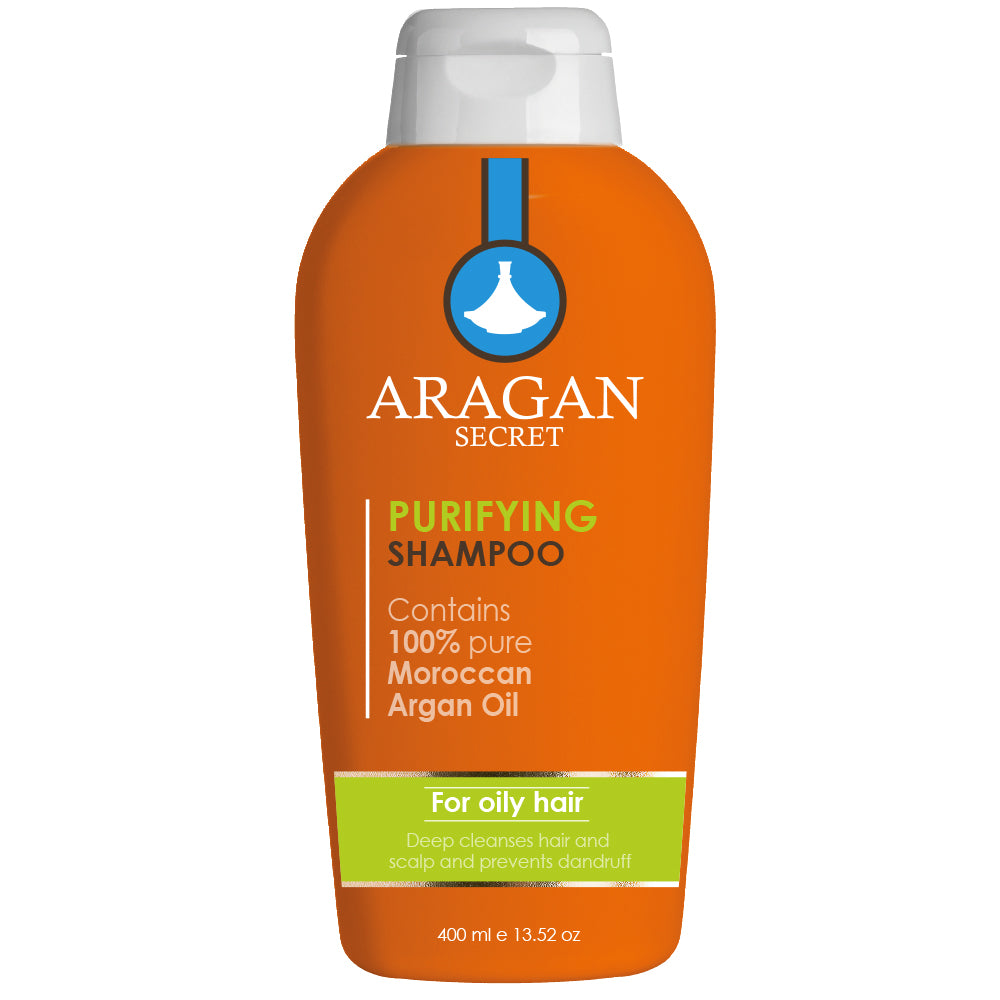 Aragan Secret Purifying Shampoo - For Oily Hair